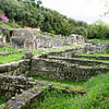 Butrint, inhabited, since prehhistoric times, was the site of a Greek colony, then a Roman city.  It also prospered during the Byzantine Empire and even into Venetian times.