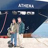 After several days of touring Slovenia and the central region of Croatia we boarded the ATHENA, a 50-passenger ship owned by Overseas Adventure Travel.