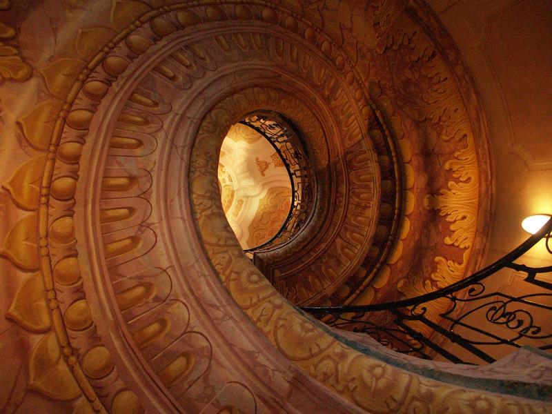 Abbey stairwell
