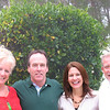 Cousin Barbara, Tom, Jayne, Alan in their beautiful backyard in Melbourne Fl!