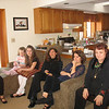 New years day at Vicki and Jerri's!  Stacey, Jade, Haley, Kellie, Vicki, Kay, Tom