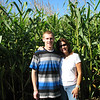 Ross and Mom in the maze!