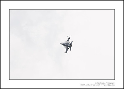 Bull Dogs Rapid Response F-16 Fighter Squadron