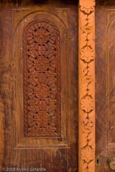 Woodwork in Zanzibar
