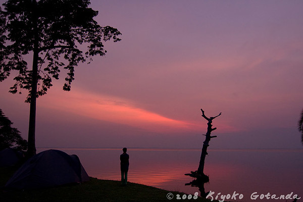 Sunrise at Lake Nabugabo