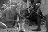 The dik dik head is cooked so the brains can be eaten