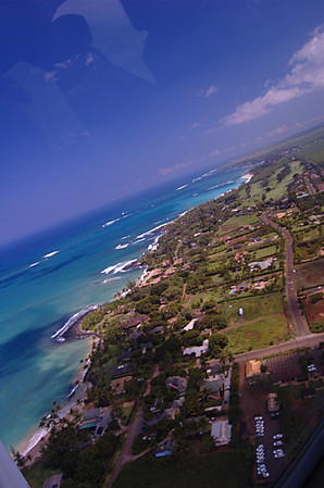 Kona, Hawaii from the air
