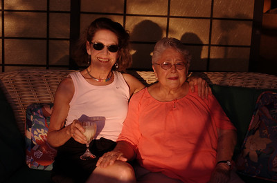 Mom (Deborah Byersdorfer) and Grandma Rose Kona house