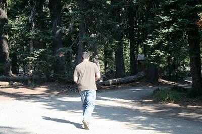 2008 Hiking on Mt Adams