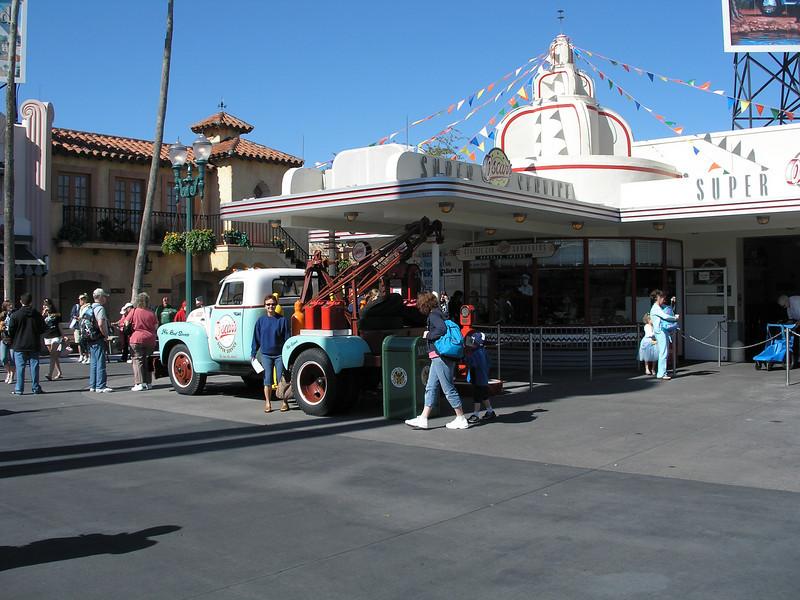 Entering Disney Studios area