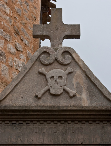 This is from a head stone in Rennes-le-Chateau.