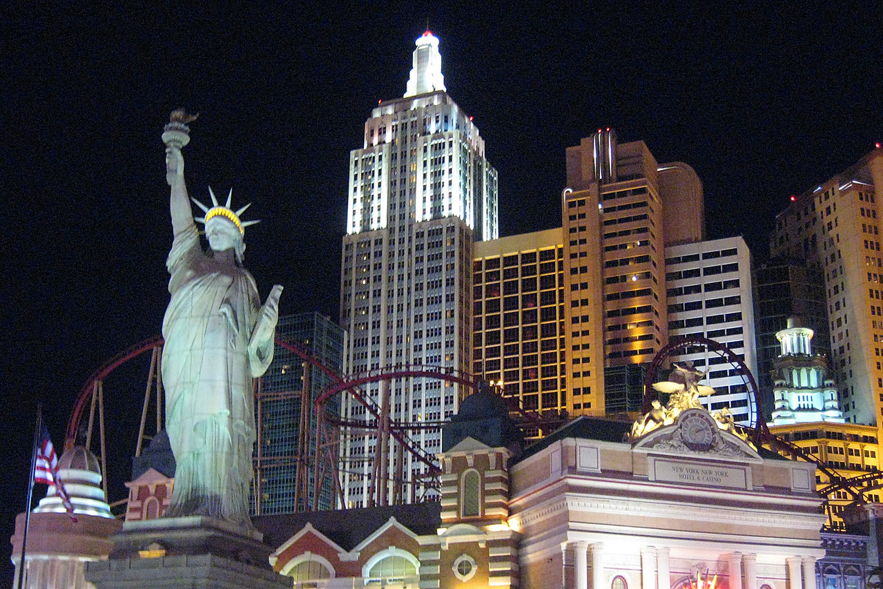 New York New York in Vegas.