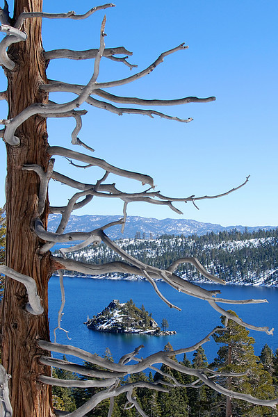 Lake Tahoe's Emerald Bay.