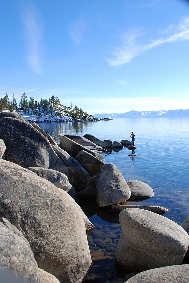 Lake Rocks.