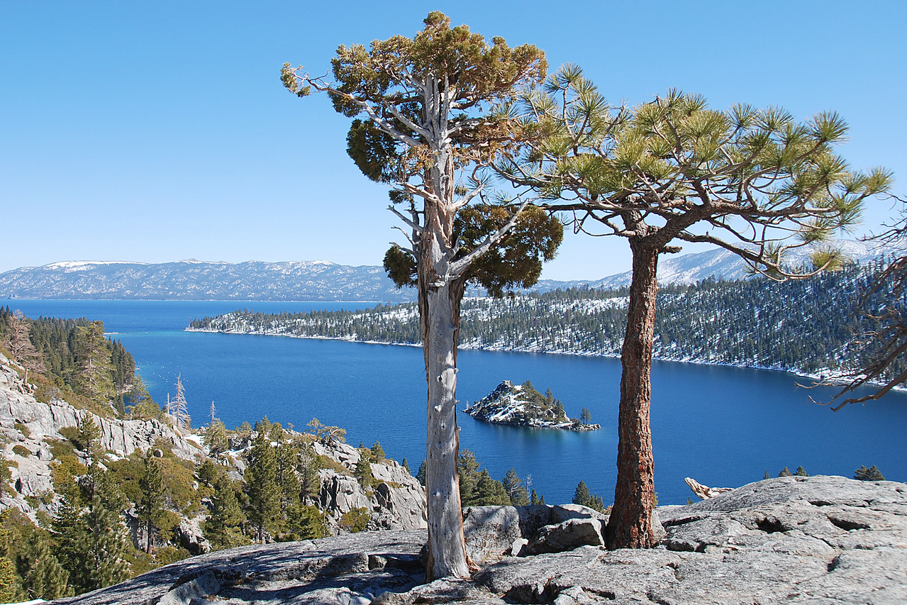 Another View of Lake Tahoe's Emerald Bay.