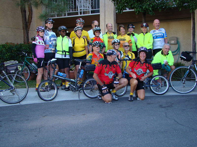Riders on the first day  from Albq