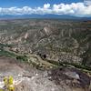 Panorama near Los Alamos, White Rock Canyon with Rio Grande