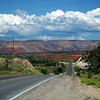 What a road, what a view on the way out of Jemez Springs
