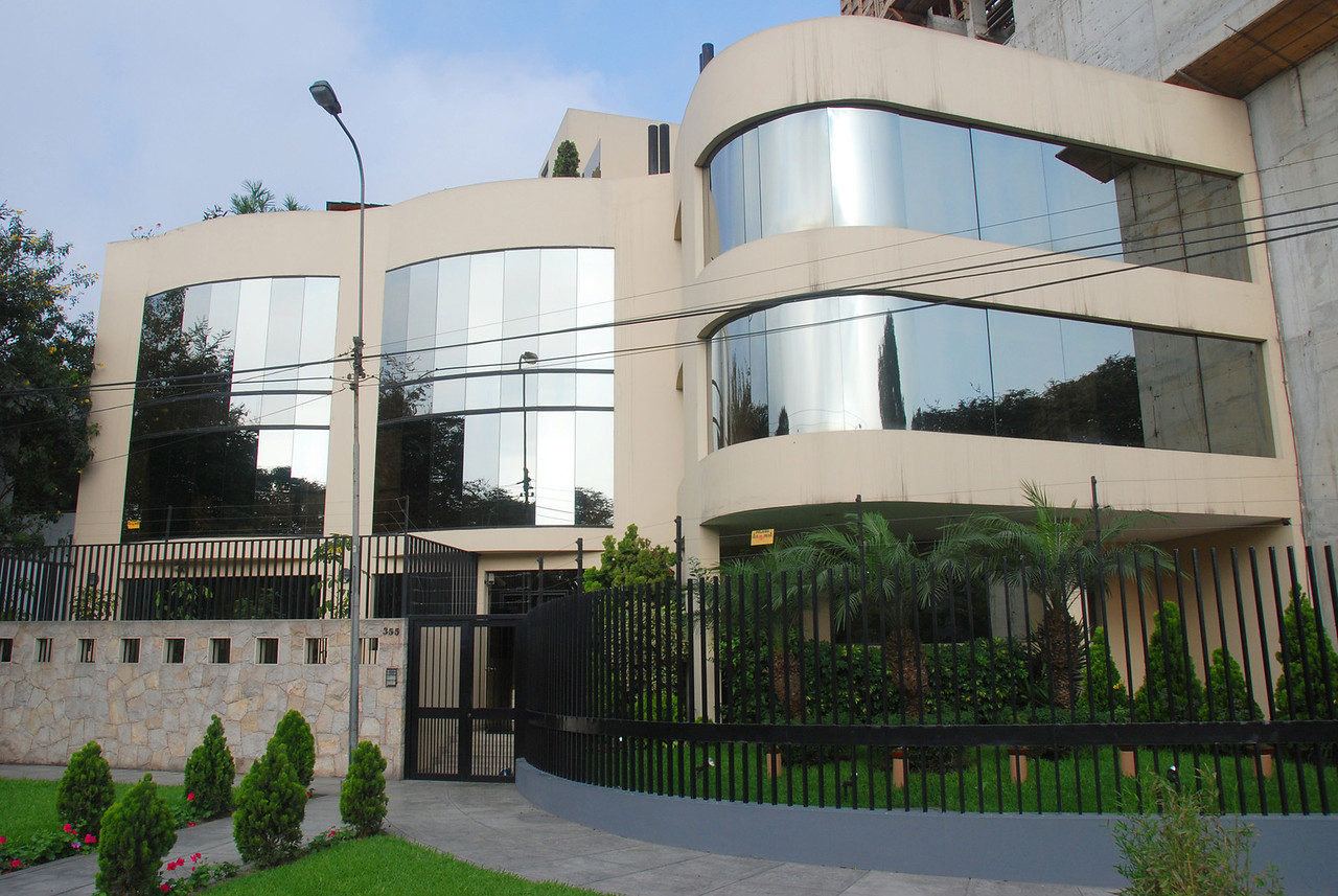 Some of the homes in Lima are quite modern and luxurious, especially ones near the beach in the Miraflores section.