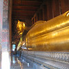 Bangkok's huge Sleeping Buddha.