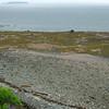 Along the beach area