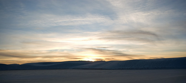 White Sands, NM - Sunset