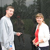 At the Vietnam Memorial Pam and Matt honor their uncle and brother who made the ultimate sacrafice in 1965 at the age of seventeen.