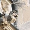 One of the features of the National Cathedral are the many gargoyles that are featured around the outside of the cathedral.