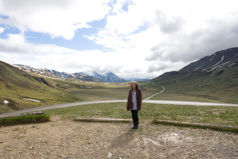 Stacey in Denali Park