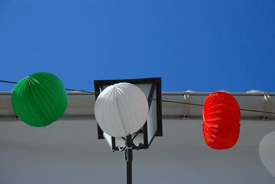 Italian colours in Alozaina, Spain