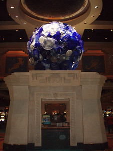 Dale Chihuly's Blown Glass at the Atlantis Casino