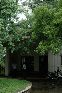 I visited the AU-KBC research institute at the Madras Institute of Technology.
