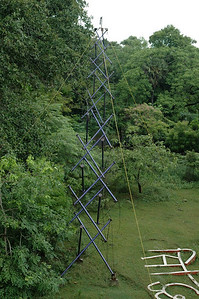 IIT Madras; a cool structure outside the CS&E department.
