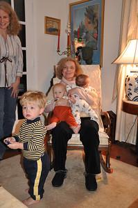 Grandma & babies