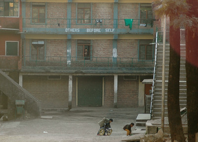 Dharamsala: the Tibetan Children's Village (TCV) school.