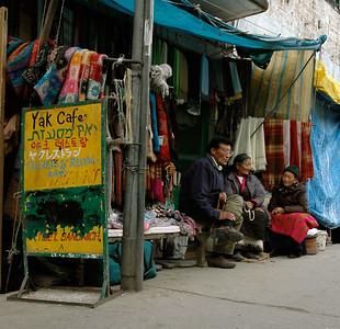 Dharamsala street vendors.