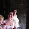 Molly, Amy, and Tina Hoffman as they leave The Haunted Mansion