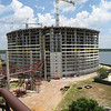 Timeshares being built adjacent to The Contemporary Resort.