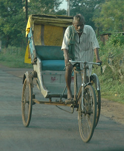Rickshaw wallah, Kharagpur.