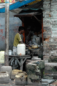 Tea wallah; Kolkata.