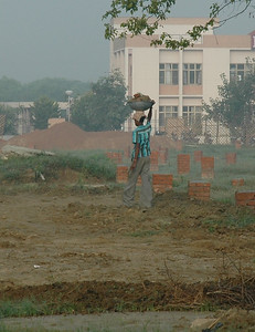 construction work at IIT Kanpur.