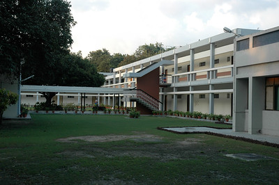 IIT Kanpur - Guest house courtyard.