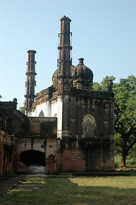A mosque in Lucknow.