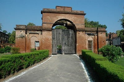 Gateway to the Residency; Lucknow.