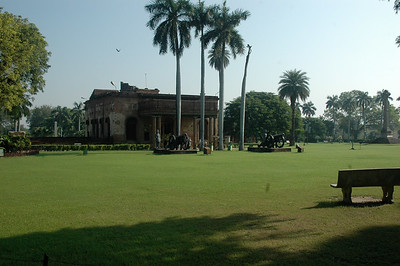 The Residency is now a museum.  Lucknow.