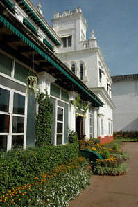 The Green Hotel was built as a palace for princesses.