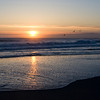 Sunset at Pajaro Dunes Beach