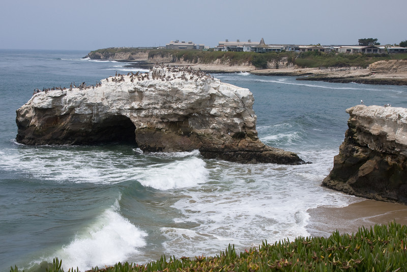 Natural Arches Park - Santa Cruz.