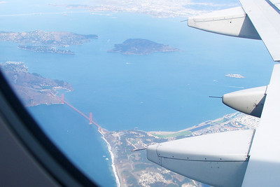 SF Bay Area from the Air