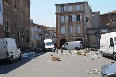 Toulouse after a Market